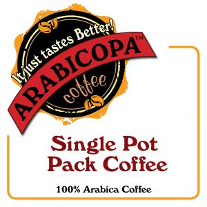 Single Pot Pack Coffee